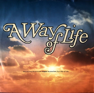 "A Way Of Life ‎- Trippin' On Your Love (12"") (G++/G++)"